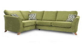 relax 3 seater formal back corner sofa