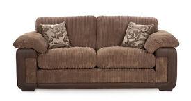 Eternity formal back 3 seater sofa