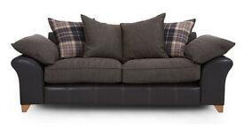 Union 3 seater Pillow back sofa