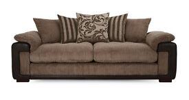 Eternity pillow back 4 seater sofa