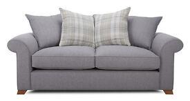 Sherlock 3 seater pillow back sofa
