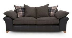 Union 3 seater Pillow back sofa
