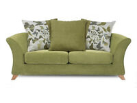 relax 2 seater pillow back sofa
