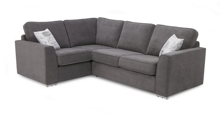 """Richard 2 seater corner sofain West Heath, West MidlandsGumtree - Sofa is brand new """"New high quality Richard sofa in 11 contemporary colours. Pillows included. Silkline or standart foam. """" """"Height (cm) 95 Width (cm) 251 x 181 Depth (cm) 97 """" a choice of models availble"""
