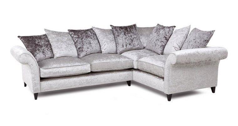 Silverline 2 Seater Corner Sofa