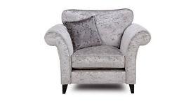 Silverline armchair
