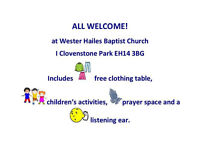 Drop In Cafe- free lunch, clothing , childrens activities Jan 28th
