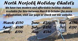 Norfolk Coast Holiday Rental Near Beach