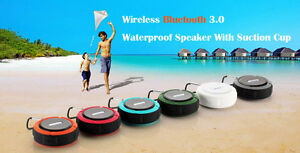NEW in box - 5W Blue Waterproof Bluetooth Speaker with Handsfree West Island Greater Montréal image 2