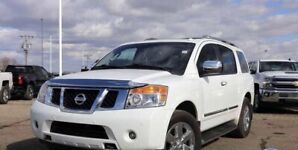 Very clean! 2012 Nissan Armada Platinum!