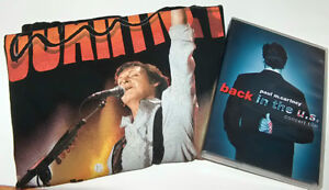 Paul McCartney Back in US Concert DVD and T Shirt London Ontario image 3