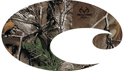 """NEW AUTHENTIC  Costa Del Mar® EXTRA LARGE 12"""" REALTREE XTRA CAMO DECAL STICKER"""