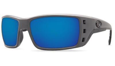 c130b4dd2a Costa Del Mar Permit PT 98 OBMP Matte Grey   Blue Mirror 580P Polarized