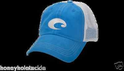 Brand New Costa Del Mar Mesh Adjustable Cap Hat  Blue Stone