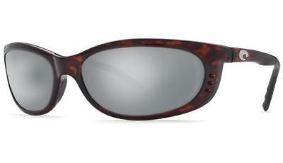 085aa033c38 New Costa del Mar Fathom Global Polarized Sunglasses Tortoise Silver 580G  Glass