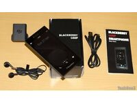 Excellent Condition Blackberry Leap (Next to new) Black/Grey Unlocked (Sim Free) with 3 covers