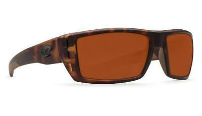 6fd8a57ffc6ac Costa Del Mar Rafael Polarized Sunglasses 580P Matte Retro Tortoise Copper  Wrap