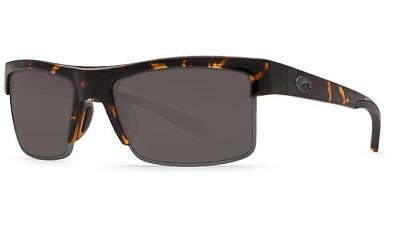 ba9dc8a5e New Costa Del Mar South Sea Polarized Sunglasses 580G Glass Tortoise/Gray