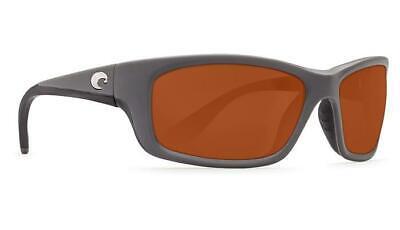 17dccfad80395 New Costa Del Mar Jose Polarized Sunglasses 580P Matte Gray Copper Fishing