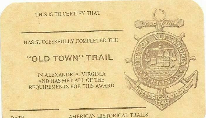 Old Town Trail Card