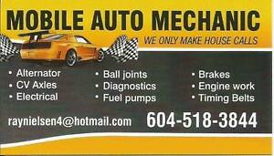 """Ray"" Professional Mobile Auto Mechanic - 604 518-3844"