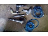 Air tools compressor & spray gun
