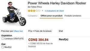 Harley Davidson Fisher Price Power Wheels Gatineau Ottawa / Gatineau Area image 2