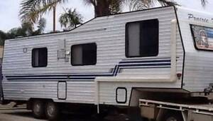 30FT SELF-CONTAINED 5TH WHEEL CARAVAN Mandurah Mandurah Area Preview