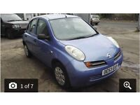 Nissan Micra 53 Plate 1.2