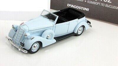 ZIS-102 1:43 Deagostini Soviet limousine car diecast model Russian Cars The (Best 1 43 Diecast Cars)