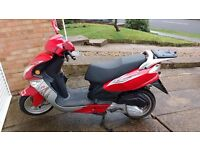 Lintex RS sport 125cc scooter