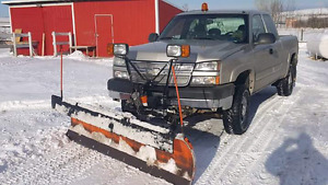 2006 chevy 2500hd plow truck
