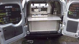 Mobile Coffee van Fiat Fiorino Business for sale