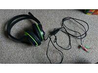 Genius Headphones With Mic And Sound Level