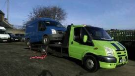 2X FORD TRANSITS 2010 FOR PARTS/BREAKING