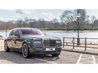 Chauffeur driven Rolls Royce, weddings, airport transfers long distance journeys