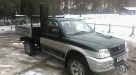 Mitsubishi L200 tipper for sale
