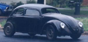 VW Beetle Chop Top Cal look 1958