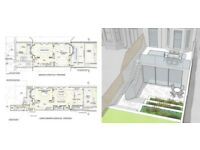 ARCHITECT - planning / building control / refurbishment / extensions / new build / interiors