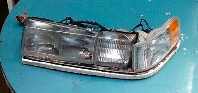 1992- 1997 Cadillac  SEVILLE Left turn & headlight, base bracket, wiring, OEM