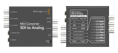 Blackmagic Design Mini Converter - SDI to Analog (Open Box) (CONVMASA)