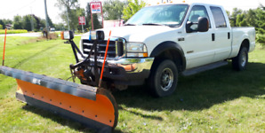 """F250 with 108"""" Arctic Plow"""