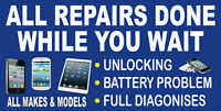 IPHONE,IPOD,IPAD,SAMSUNG & Tablet, HTC,LG,BB,ON THE SPOT REPAIR