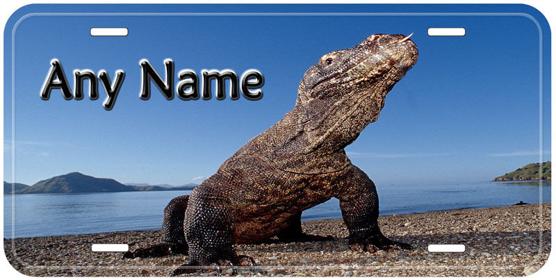 Reptile Lizard Novelty Any Name Personalized Car Auto Tag License Plate
