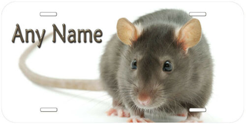 Rat Any Name Personalized Auto Car Novelty License Plate