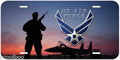 Air Force US Military F15 Eagle Novelty Car License Plate A8 ()