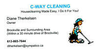 C-Way Cleaning-Housekeeping\Housecleaning and MORE