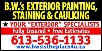 """Spring is on its way! Book now for """"EXTERIOR PAINTING"""" & save $$"""