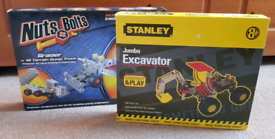 2 x Stanley/Nuts+Bolts Building Kits, Brand New