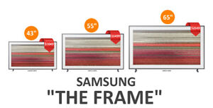 "Samsung ""The Frame"" 43"" / 55"" / 65"" 4K Ultra HD Smart LED TV"
